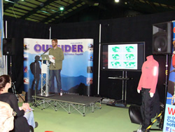 Mark Flagler asked by Outsider to speak at Adventure Weekend in Dublin