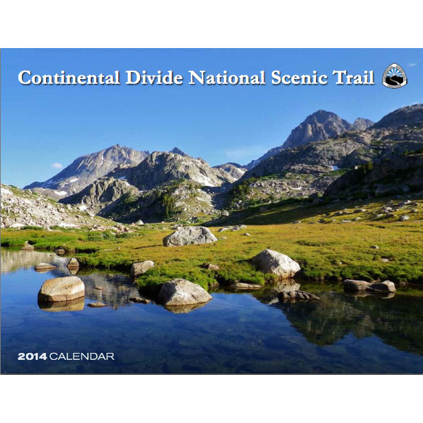 Continental Divide National Scenic Trail 2014 Calendar